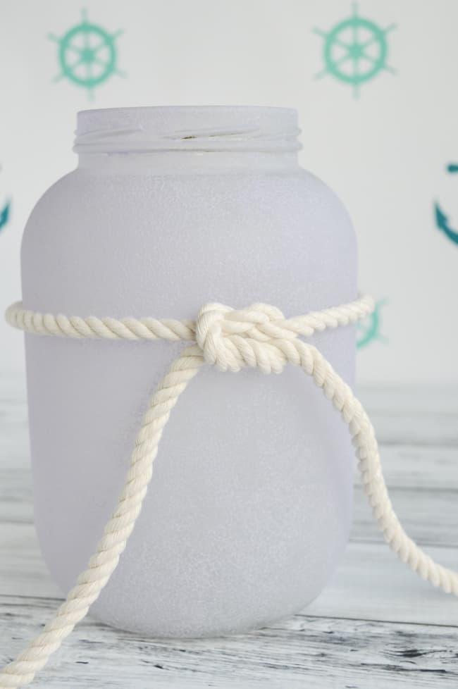tighten the square knot