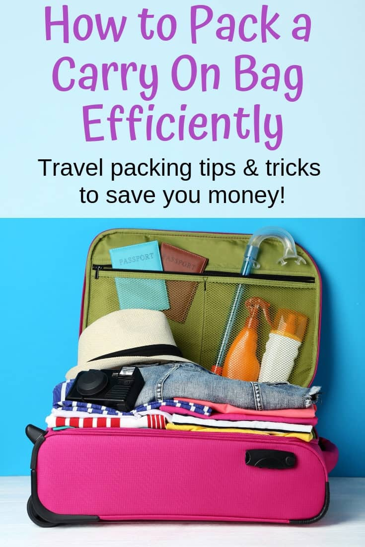 How to Travel Light with Just a Carry on (and save money!)