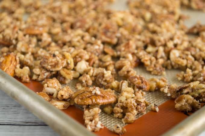 grain free chai spice granola