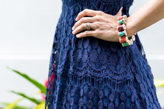 Mini Thread Spool Bracelet Tutorial