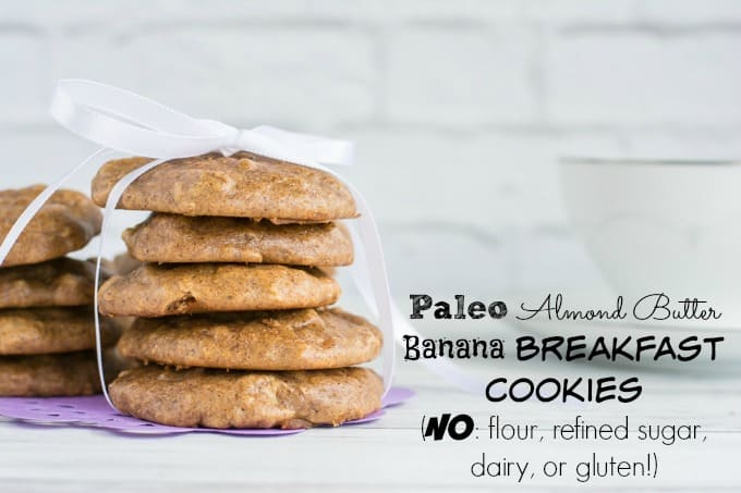 Paleo Almond Banana Breakfast Cookies Recipe