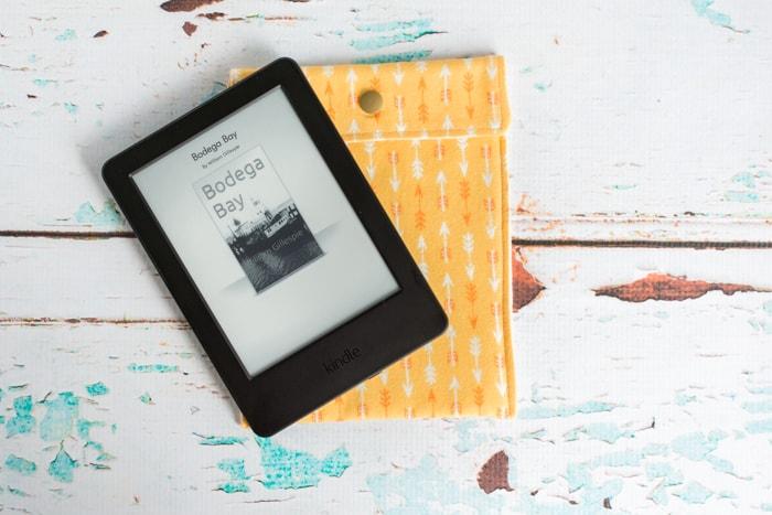 DIY lined e-reader case