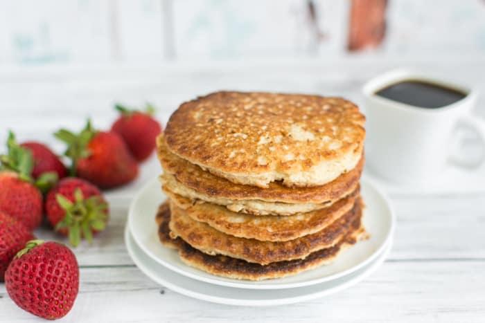 No Powder Protein Pancakes