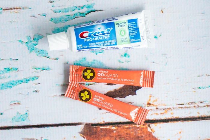 travel toothpaste