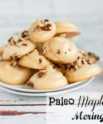 Paleo Maple Pecan Meringues Recipe
