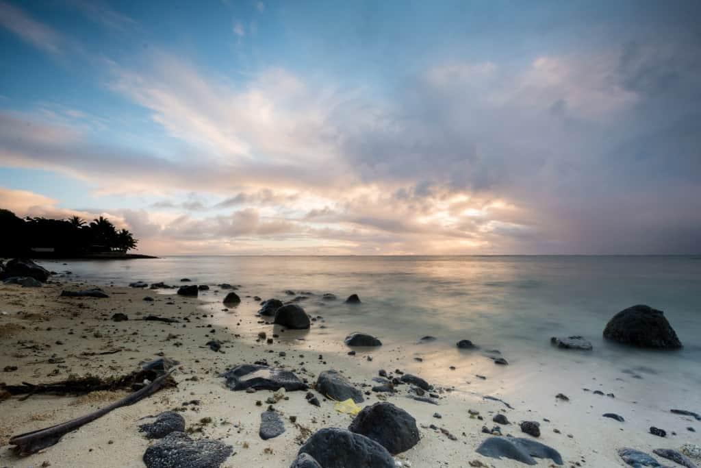 paradise sunrise