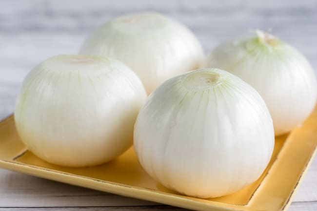 peel the onions