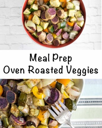 meal prep oven roasted veggies