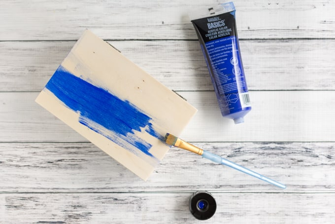 paint the nicho box