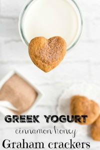 "Homemade Cinnamon Honey ""Graham"" Crackers with Greek Yogurt Recipe"