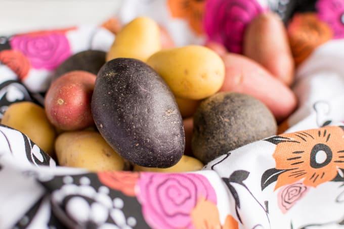 mini potato medley