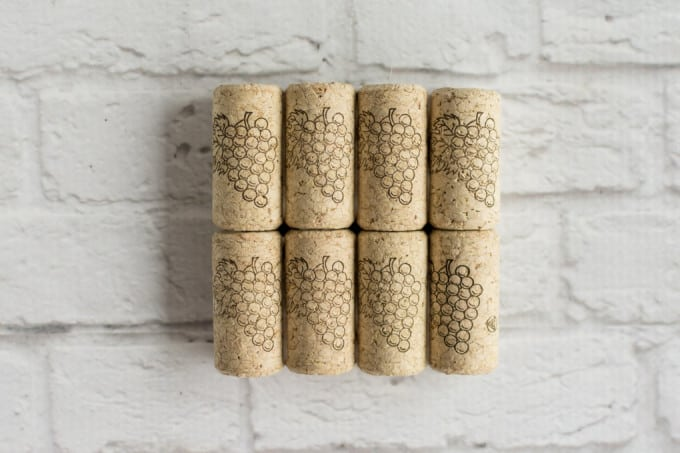 corks glued up