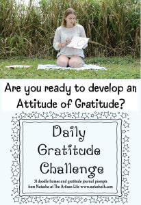 Daily Gratitude Challenge - Free Printable Gratitude Journal