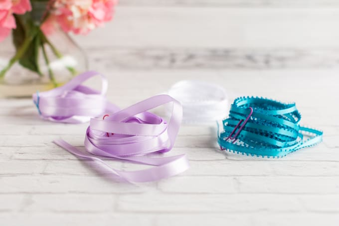 ribon for braided ribbon lei