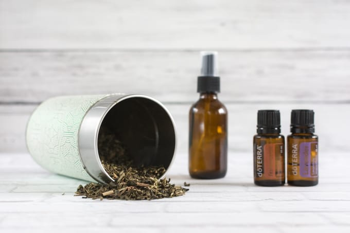 essentail oils for sunburn