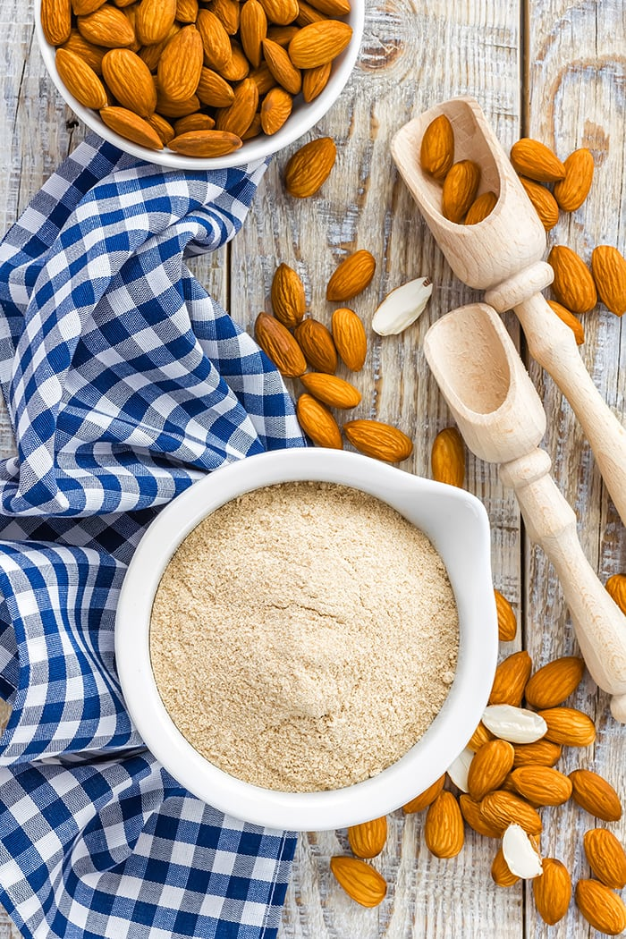 how to make your own blanched almond flour