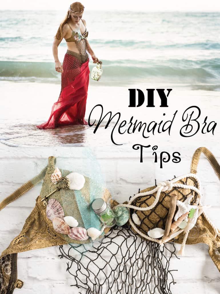 DIY Mermaid Bra Tips