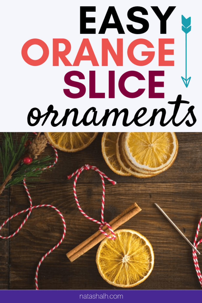 easy orange slice ornaemnt tutorial
