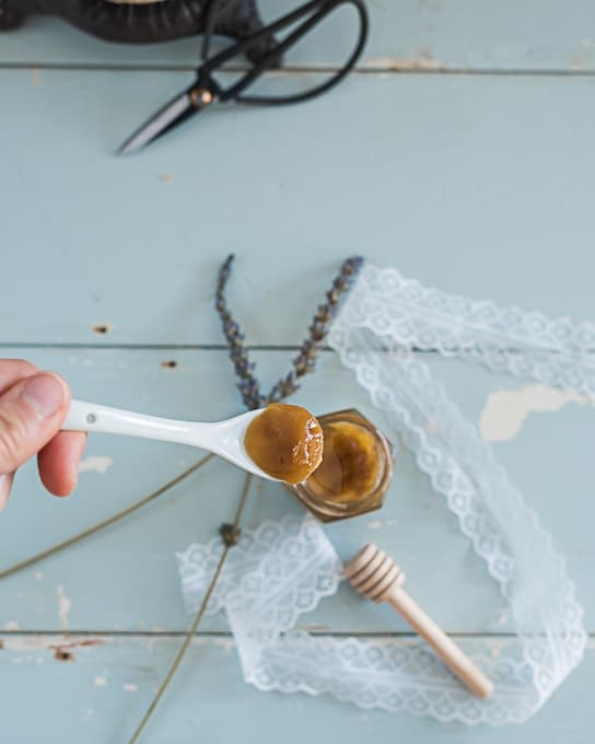 Honey Almond Sugar Lip Scrub Recipe