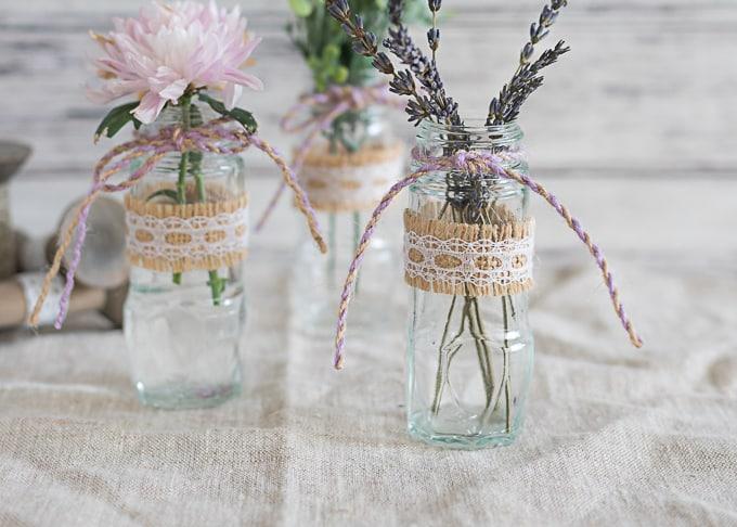 spice jar bud vase