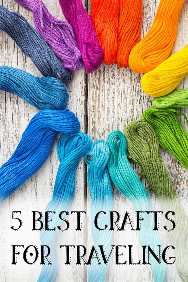 5 Best Crafts for Traveling - Portable Crafts for Traveling and Vacation