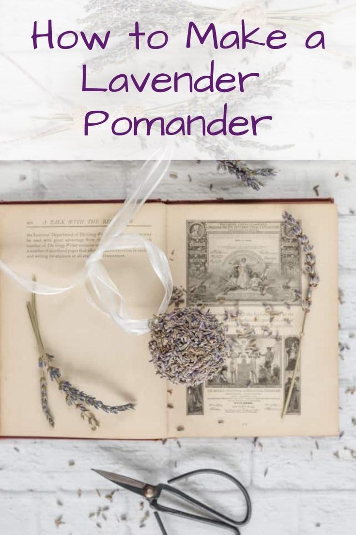 How to Make a Lavender Pomander