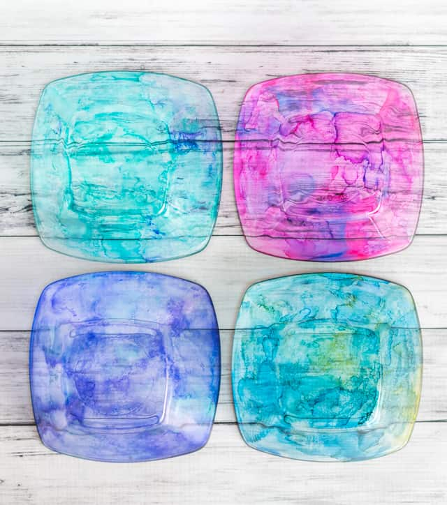 food safe alcohol ink dishes