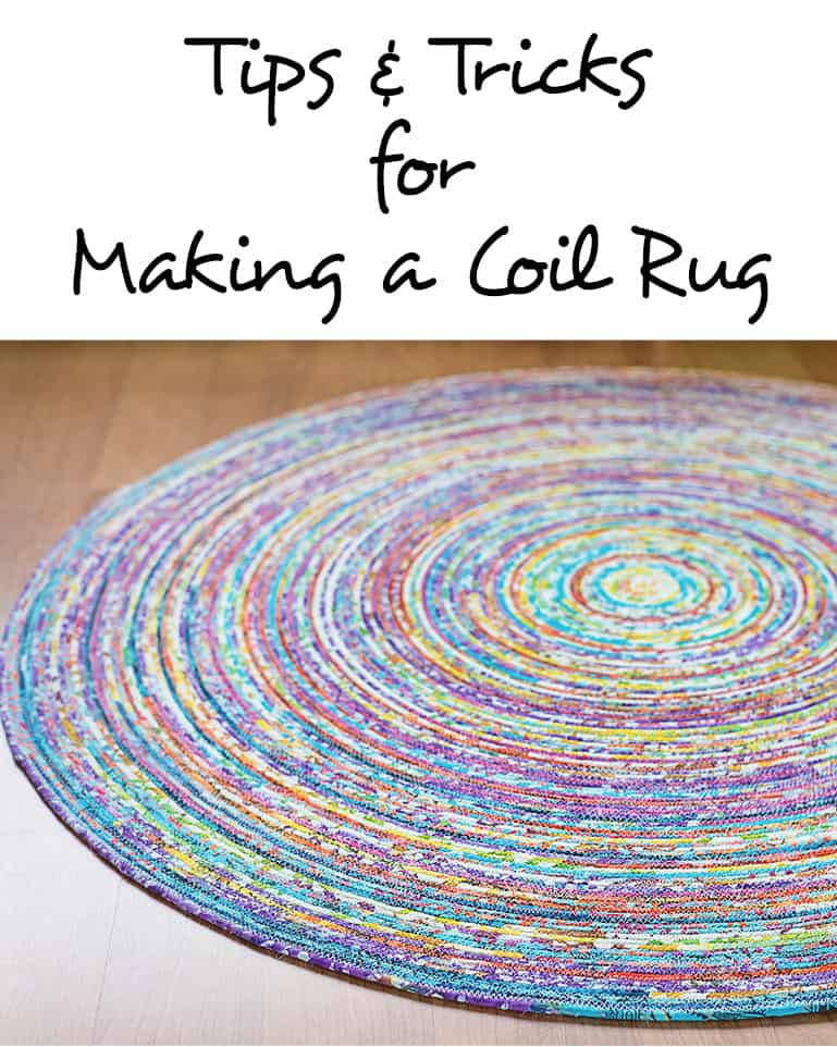 Tips and tricks for making a coil rug