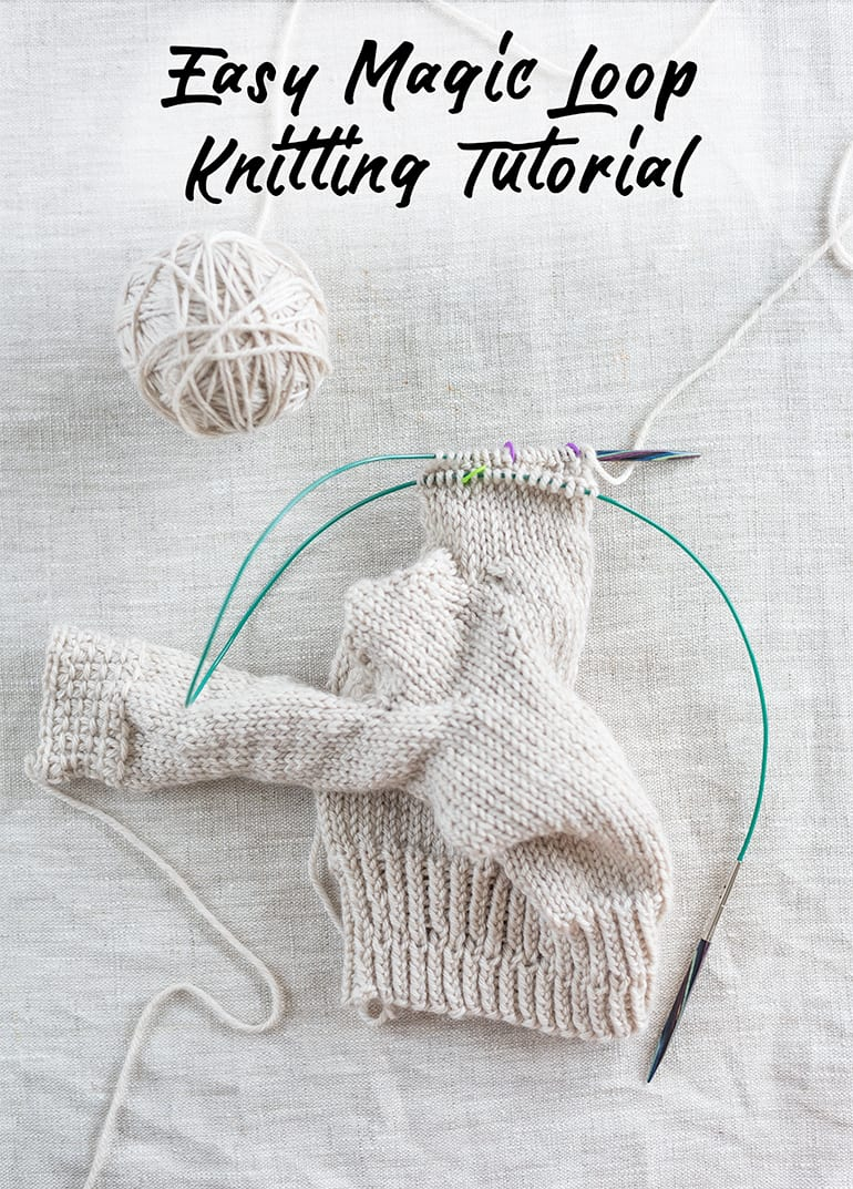 easy magic loop knitting tutorial