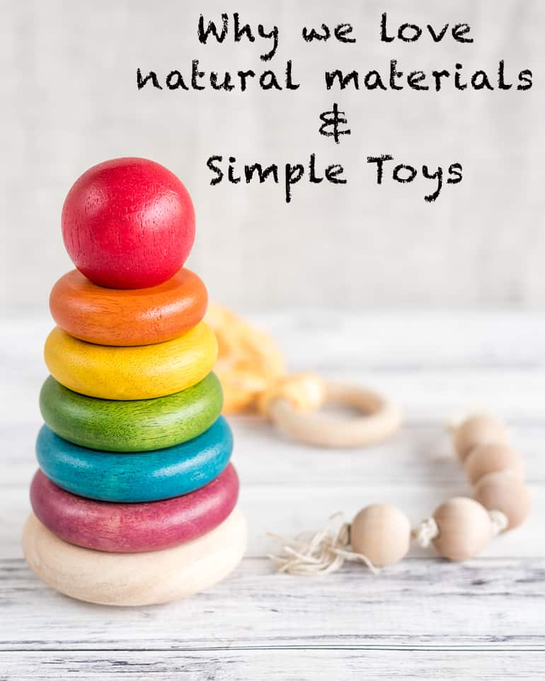 Montessori-inspired parenting - why we love natural materials and simple toys for our baby