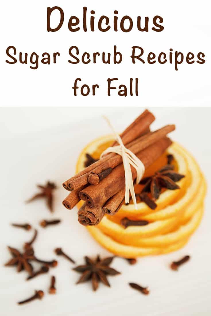 delicious sugar scrub recipes for fall