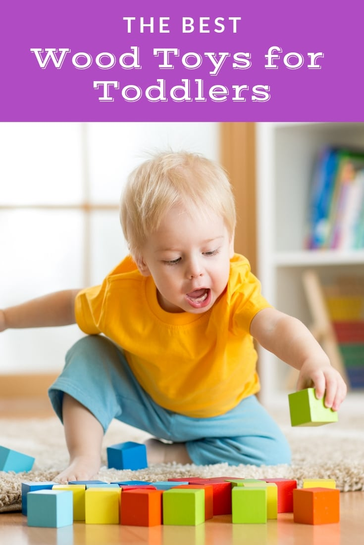 The best wood toys for toddlers - discover the best non-toxic wood toys for your toddler!