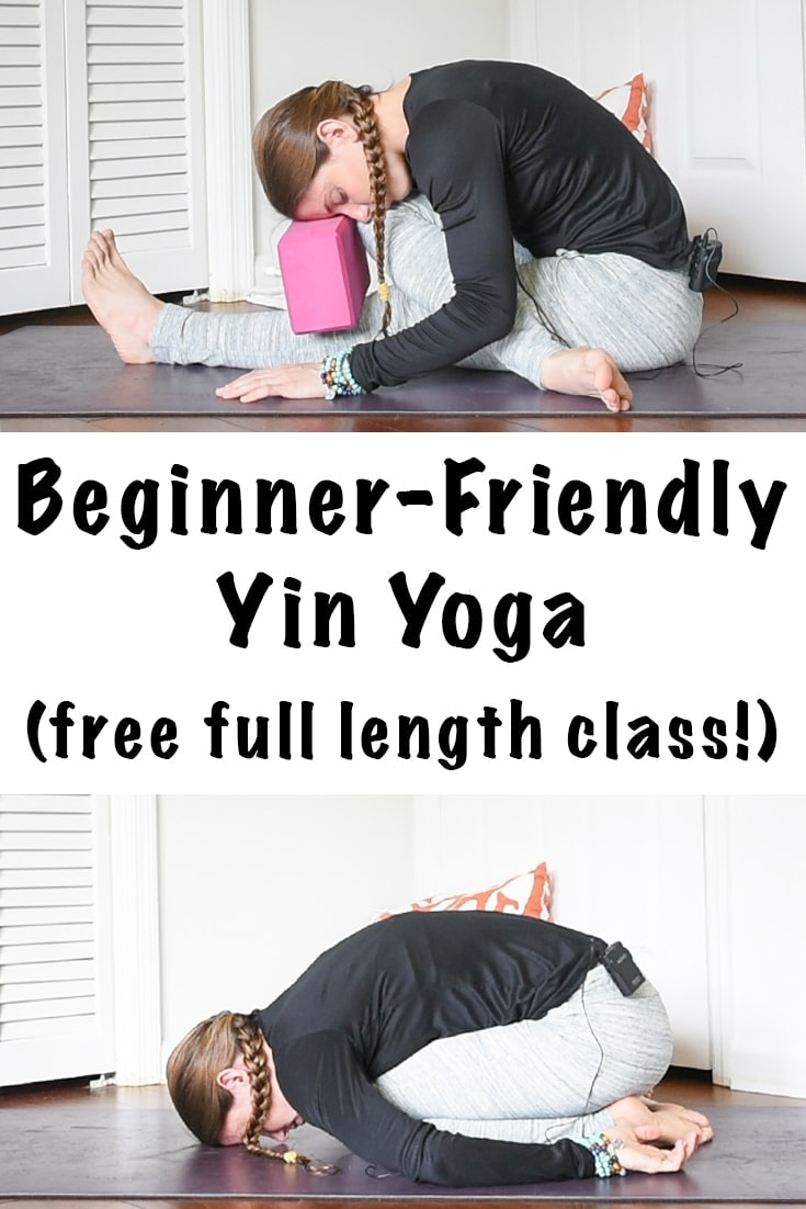 beginner friendly yin yoga sequence