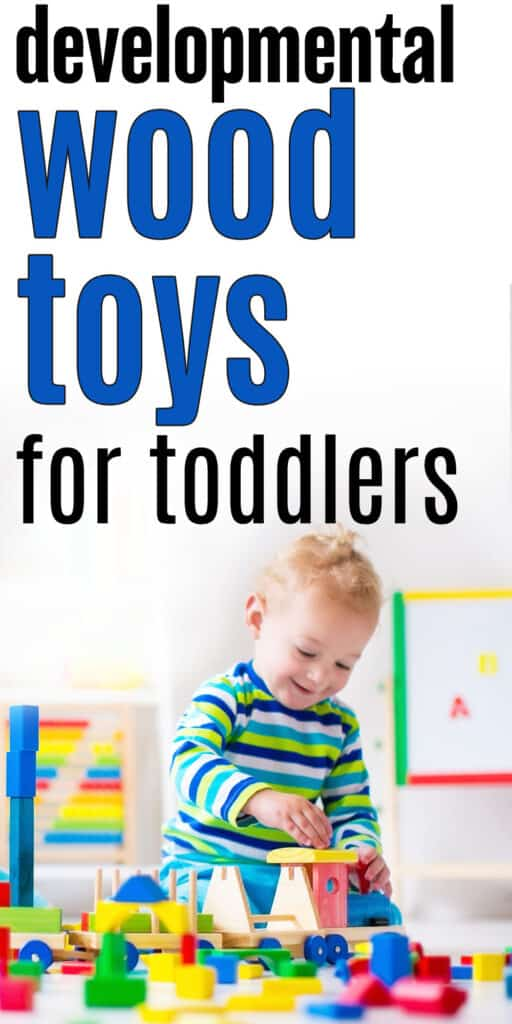 developmental wood toys for toddlers