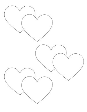 double-heart-shape-printable
