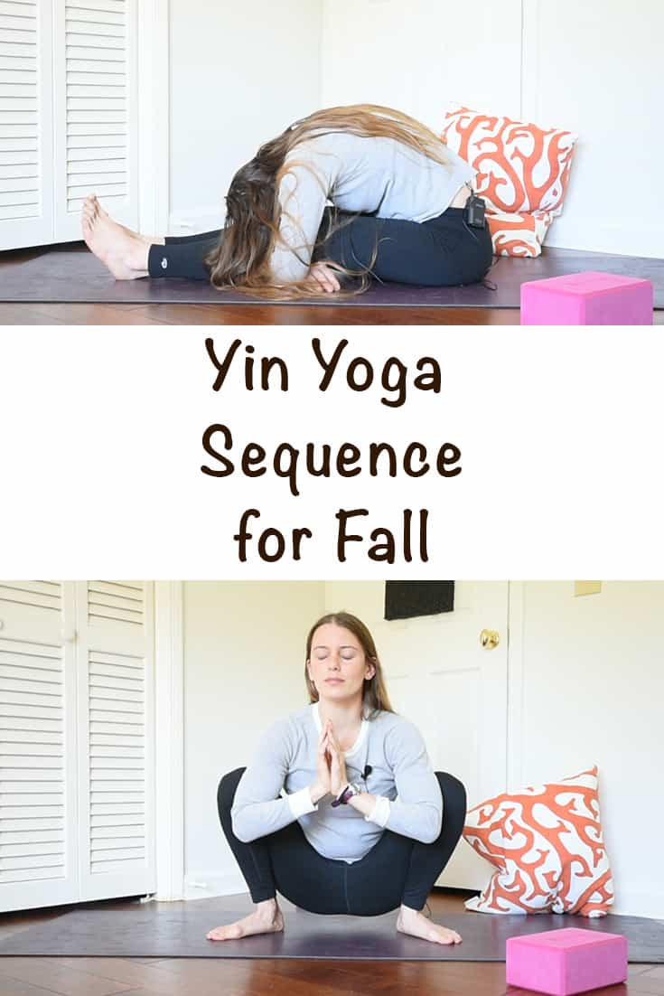grounding yin yoga sequence for fall