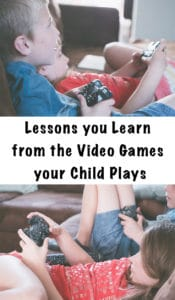 lessons you learn from the video games your child plays