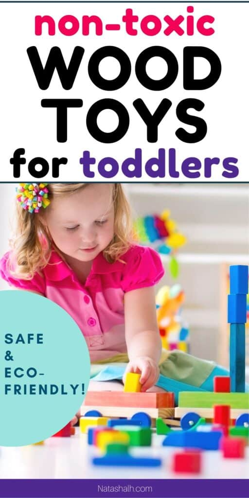 safe and nontoxic wood toys for toddlers