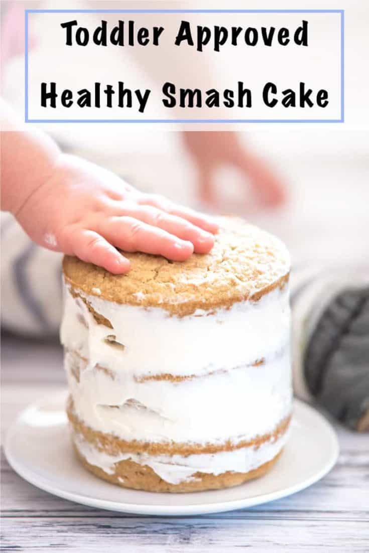 Healthy Smash Cake Recipe - No Added Sugar Gluten Free First Birthday Cake