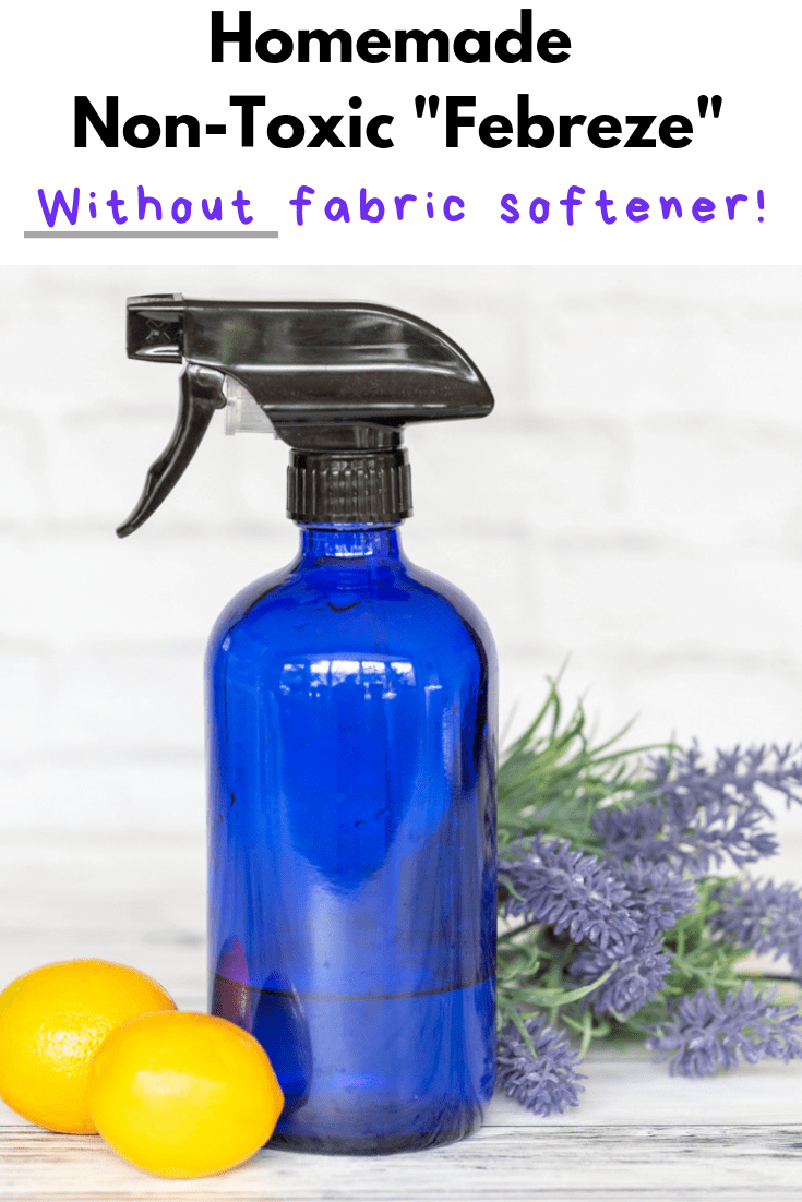 Non-Toxic Homemade Febreze Without Fabric Softener - DIY Febreze Recipe