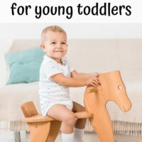 17+ Awesome Gross Motor Toys for Young Toddlers