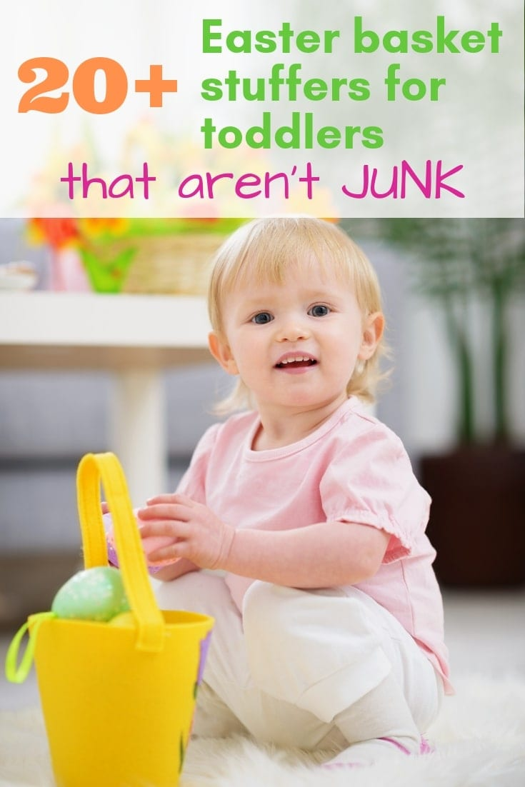 20+ Fun Easter Basket Stuffers for Toddlers that Aren't Junk