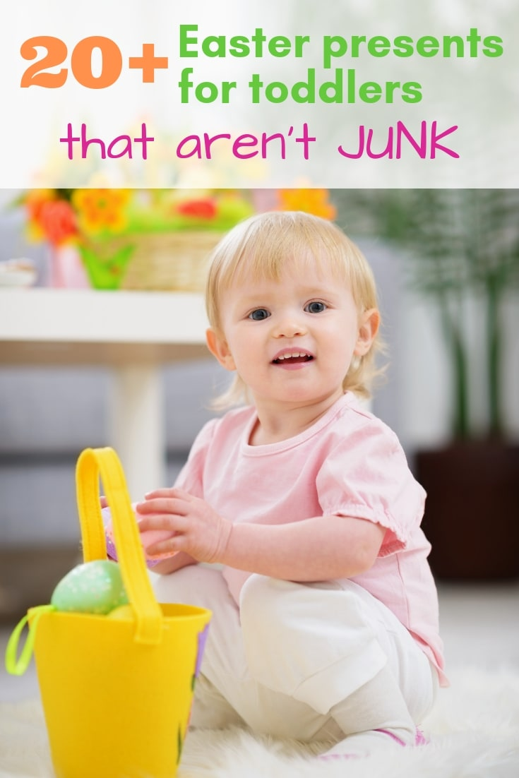 20+ Easter presents for toddlers that aren't junk