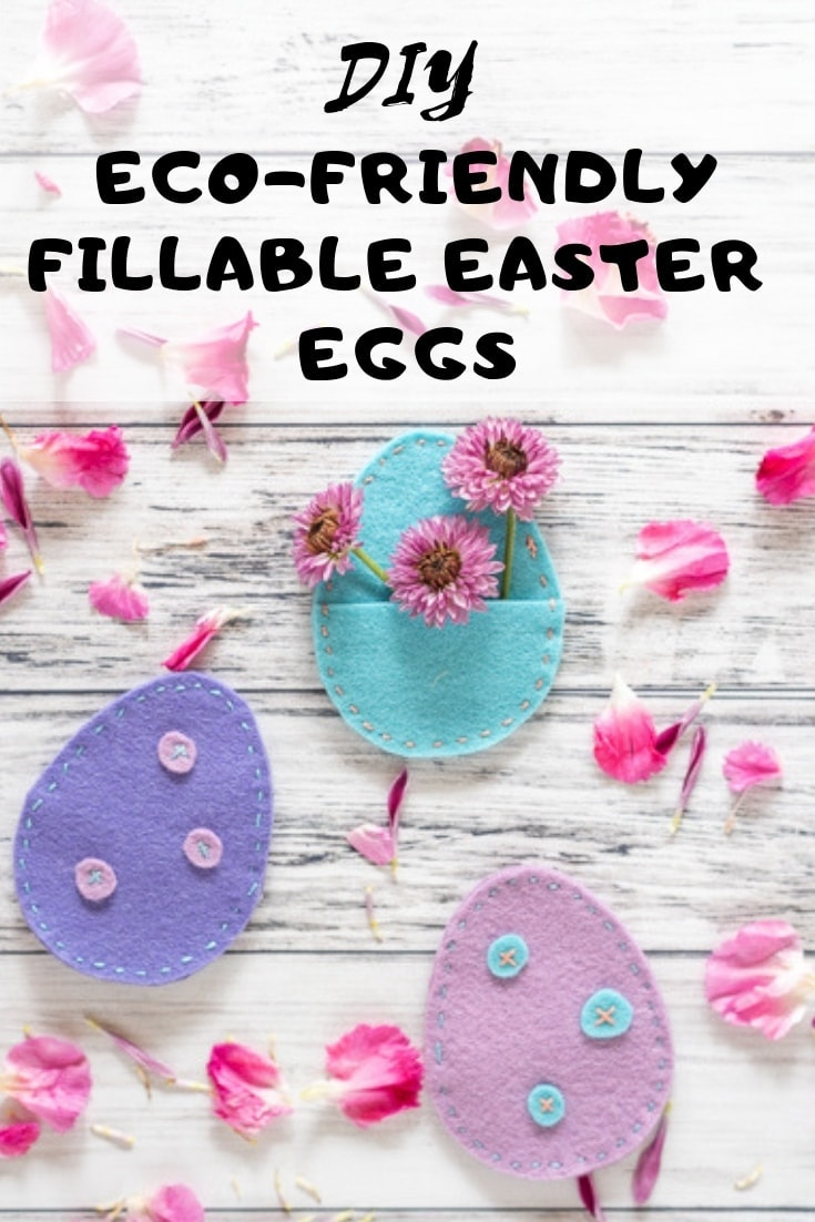 DIY Eco-Friendly Fillable Easter Eggs (with free printable pattern!)