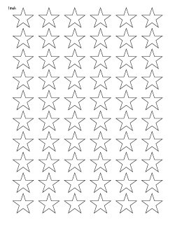 25 Free Printable Star Templates Extra Large Star Pattern The Artisan Life