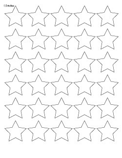 photograph relating to Printable Star Template identified as 25+ Cost-free Printable Star Templates ( a lot more enormous star