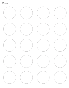 photograph regarding Printable Circle Template called Absolutely free Printable Circle Templates - High and Reduced Circle