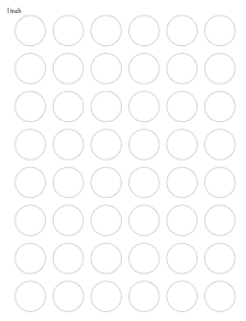 picture about Printable Circle known as Cost-free Printable Circle Templates - Enormous and Little Circle