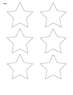 image about Star Printable named 25+ Totally free Printable Star Templates ( further heavy star
