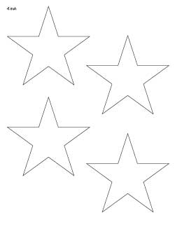 4-inch-geometric-stars